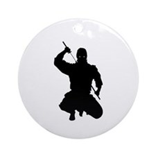 NINJA WARRIOR Ornament (Round)