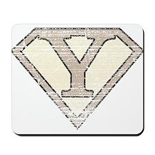 Super Vintage Y Logo Mousepad