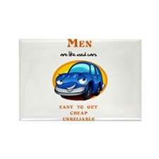 Men are like Used Cars Rectangle Magnet