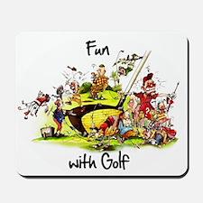 Golf fun Mousepad
