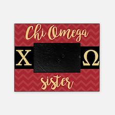 Chi Omega Sister Greek Letters Picture Frame