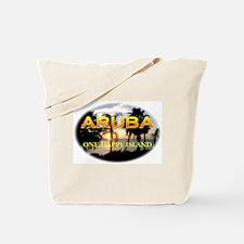 Aruba One Happy Island Tote Bag