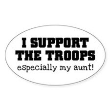 Support our Troops... especia Decal