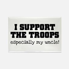 Support our Troops... especia Rectangle Magnet