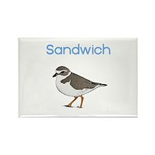 Sandwich, MA Rectangle Magnet