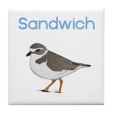 Sandwich, MA Tile Coaster