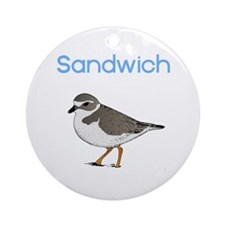 Sandwich, MA Ornament (Round)