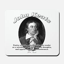 John Keats 10 Mousepad