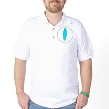 Blue Feather Golf Shirt