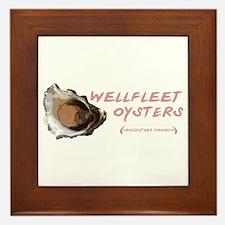 Wellfleet Oysters Framed Tile