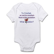 To Crochet. There is no quest Infant Bodysuit
