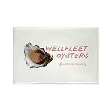 Wellfleet Oysters Rectangle Magnet