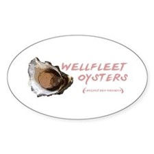 Wellfleet Oysters Decal