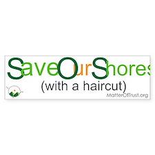 Save Our Shores Bumper Sticker