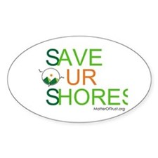 Save Our Shores Decal