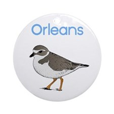 Orleans, MA Ornament (Round)