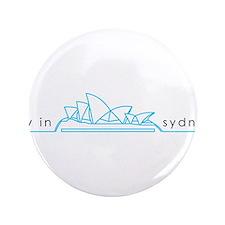 "Sydney Opera House 3.5"" Button"