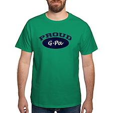 Proud G-Pa (Navy Blue) T-Shirt