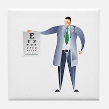 Optician Tile Coaster