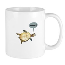 Awkward Turtle Small Mug