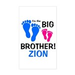 Big Brother ZION Sticker (Rectangle)