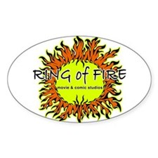 RoF Sun Logo Oval Decal