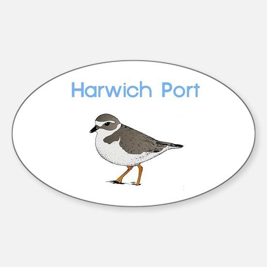 Harwich Port Sticker (Oval)