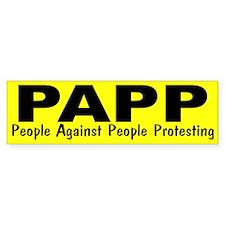 PAPP Bumper Sticker