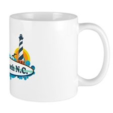"Holden Beach NC ""Lighthouse"" Design Mug"