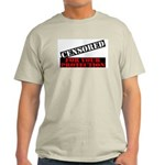 Censored For You Protection Ash Grey T-Shirt