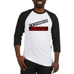 Censored For You Protection Baseball Jersey