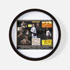 'CAPTAIN CATHOLIC: THE MOVIE 3' Wall Clock