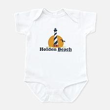 """Holden Beach NC """"Lighthouse"""" Design Infant Bodysui"""