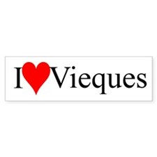 IloveViequesbumper-sticker Bumper Bumper Sticker