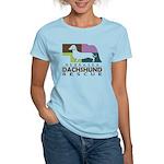 Women's 100% Cotton Colored T-Shirt