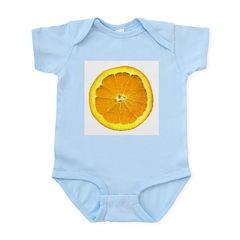 Orange Infant Creeper