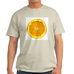 Orange Ash Grey T-Shirt