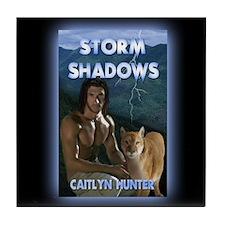 Unique Storm shadow Tile Coaster