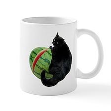 Cat with Watermelon Mug