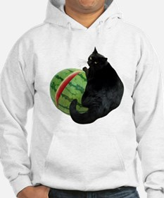 Cat with Watermelon Hoodie