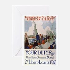 Buy US Government Bonds Greeting Card
