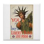 You! Buy Liberty Bonds Tile Coaster