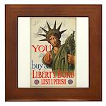 You! Buy Liberty Bonds Framed Tile