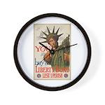 You! Buy Liberty Bonds Wall Clock