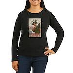 You! Buy Liberty Bonds Women's Long Sleeve Dark T-