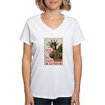 You! Buy Liberty Bonds Women's V-Neck T-Shirt