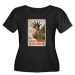You! Buy Liberty Bonds Women's Plus Size Scoop Nec