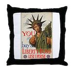 You! Buy Liberty Bonds Throw Pillow
