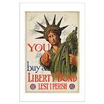 You! Buy Liberty Bonds Large Poster