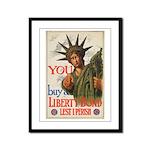 You! Buy Liberty Bonds Framed Panel Print